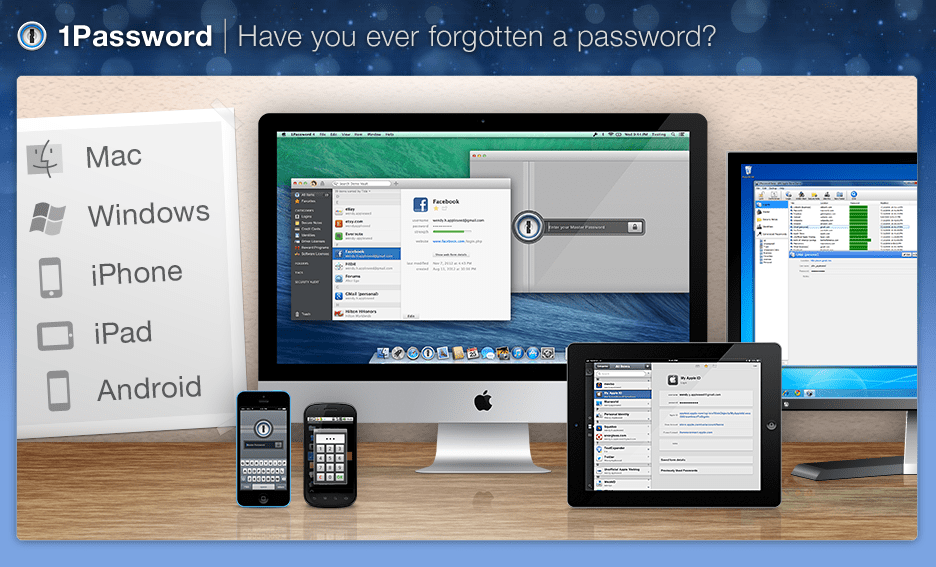 Agilebits' 1Password