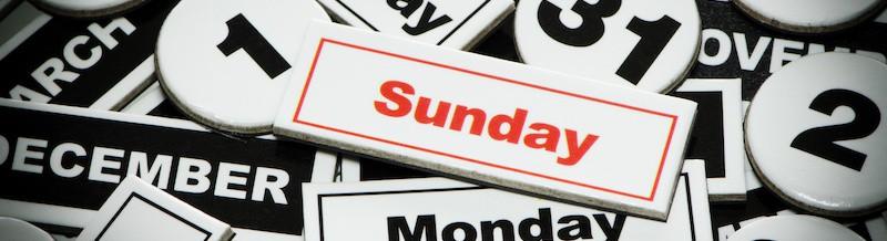 church sub-calendars